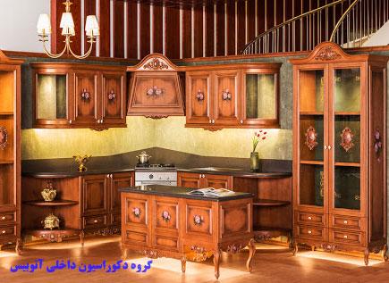 کابینت سنتی چوبی